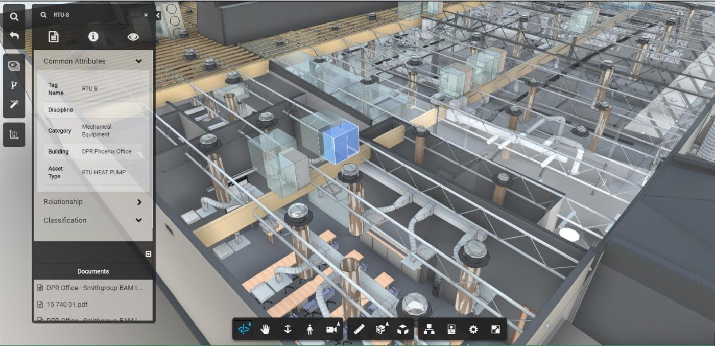 Using VDC techniques including BIM, extends the lifecycle of the build.