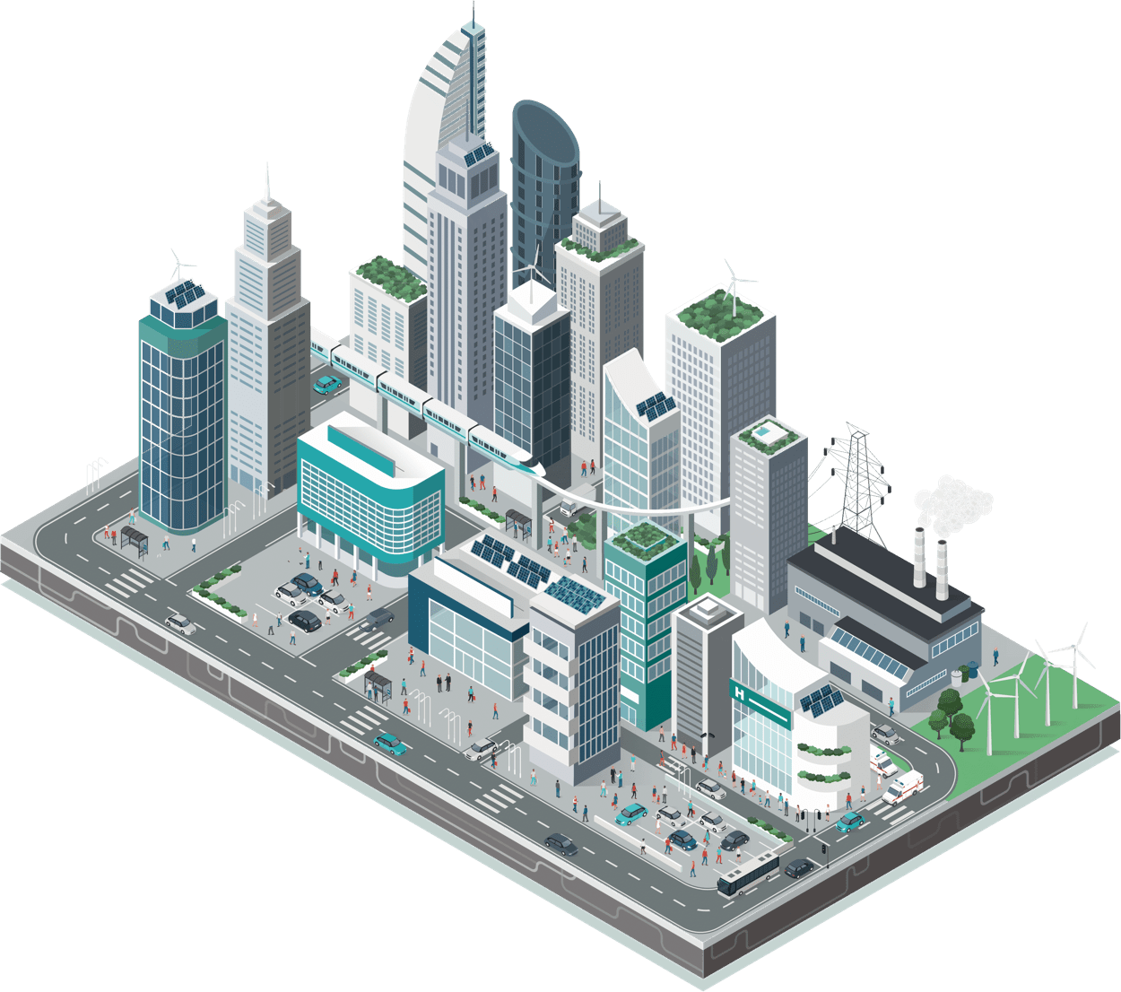 Hero-city-illustration